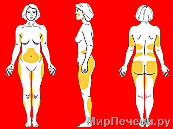 Как правильно сжечь жир на животе и на боках