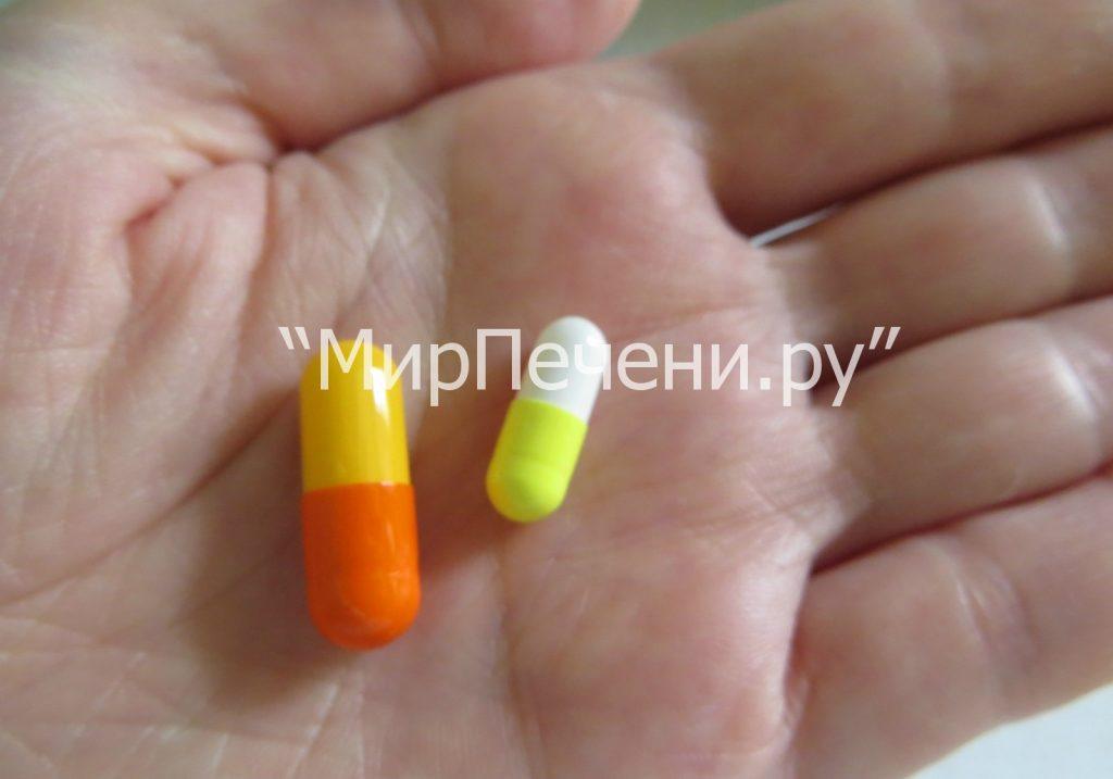Капсулы Fosfogliv